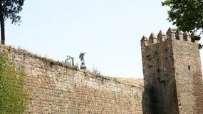 Wall of Atarazanas Royalty Free Stock Photos