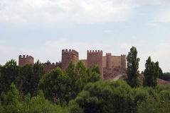 Wall of Avila Stock Photography