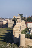 Wall of Avila, Spain. Royalty Free Stock Image