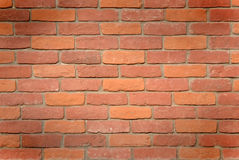 Wall background. Bricks are used as a material, close-up Stock Images