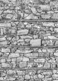 Wall background in black and white Stock Photography