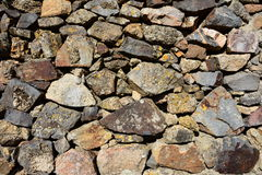 Wall background. House wall made of stone royalty free stock images