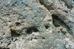 Wall, background, texture of designated rock Stock Photography
