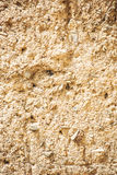 Wall for background or texture of mud baked in the sun Royalty Free Stock Photography
