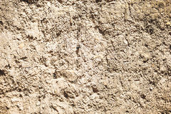 Wall for background or texture of mud baked in the sun Royalty Free Stock Photo