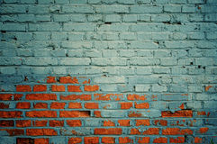 Wall backgrounds. Brick wall backgrounds with cracks Royalty Free Stock Image