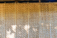 Wall bamboo Handicraft Royalty Free Stock Photos
