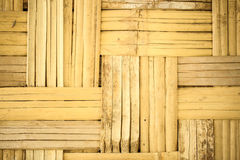 Wall bamboo of home west of thailand Stock Photos
