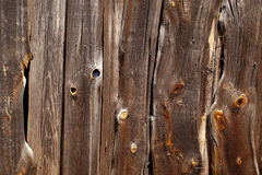 Wall of the barn. Stock Photo