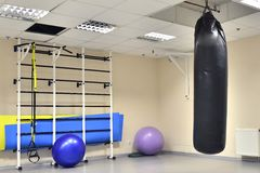 Wall bars in Fitness Centre Stock Photography