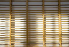 Wall bars. Gym wall bars in the school gymnastic hall Stock Photo