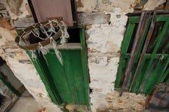 Wall basket basketball Royalty Free Stock Image