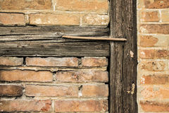 Wall and beams Stock Images