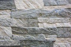 Wall. Beautiful imitation stone wall brick road Royalty Free Stock Images