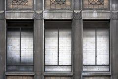 Wall behind windows Stock Image