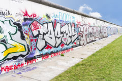 Wall in Berlin Germany Royalty Free Stock Photos