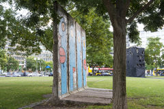 The wall in Berlin Royalty Free Stock Photography