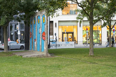 The wall in Berlin Royalty Free Stock Photo