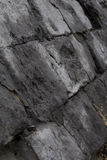 Wall of big black bricks. Lviv,Ukraine stock images