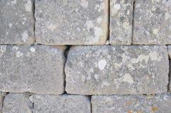 Wall of big stones Stock Image