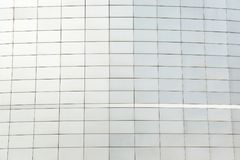 Wall of black metal futuristic new building. Abstract architectural pattern.  Royalty Free Stock Photos