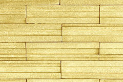 Wall blick gold cements background. Stock Image