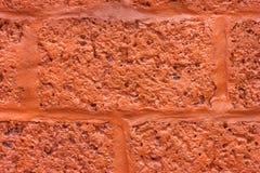 Wall blocks orange. Stock Image