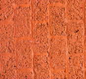 Wall blocks orange. Royalty Free Stock Image