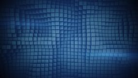 Wall of blue boxes abstract 3D illustration. Wall of blue boxes. Abstract background. 3D illustration vector illustration