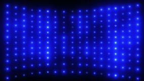 Wall of Blue Lights stock footage