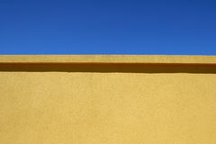 Wall and Blue Sky Royalty Free Stock Images