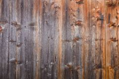 Wall from boards in the form of a background texture royalty free stock images