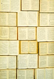 A wall of books -2 Royalty Free Stock Photography