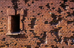 Wall of  Brest fortress Royalty Free Stock Image