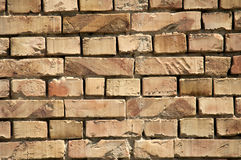 Wall of brick Royalty Free Stock Images