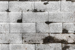 Wall brick background Stock Images