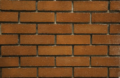 Wall brick. Brown building background Stock Photography