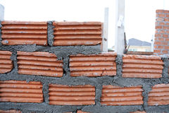 Wall brick of building Stock Photography