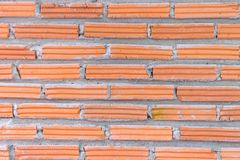 Wall brick for construction brick pattern. Background royalty free stock photography
