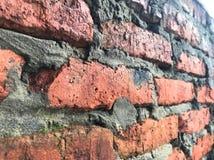 Wall of brick stock photography