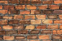 Wall of brick. Old wall of red brick Royalty Free Stock Image