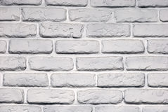 Wall brick painted Stock Photography