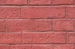 Wall of painted bricks background. texture. Stock Image
