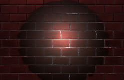 Wall Brick pattern. Old building Stock Images