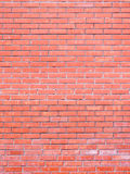 Wall from a brick of the red clay Stock Photos