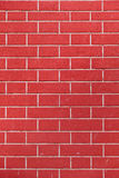 Wall brick texture. Red wall brick texture vertical Royalty Free Stock Photos