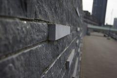 Wall. A brick wall in Venlo Stock Photos