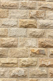 Wall bricks. Griotte bricks wall of modern building royalty free stock photography