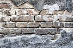 Wall and bricks Royalty Free Stock Photos