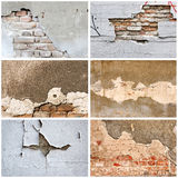 Wall and bricks Stock Photography